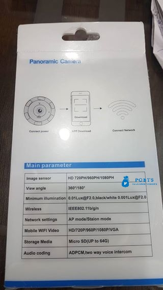 Panoramic Wifi Camera for Sale