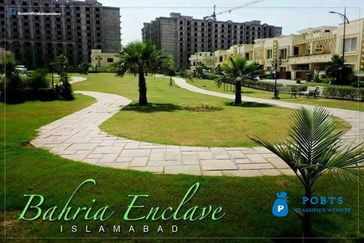Bahria Enclave Islamabad shops & apartments on installments