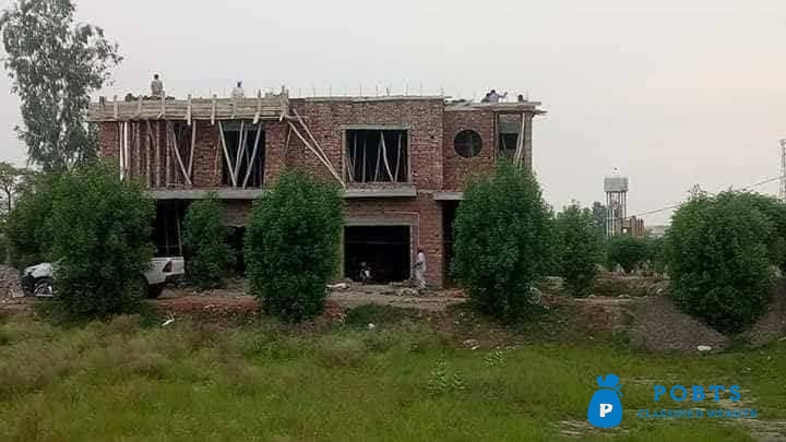 First time In Lahore 3 or 5 mrla house on 5 years installments