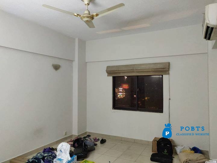 2 Bed Room with TV Lounge Premium Apartment 1410 Sq. Ft. in Lignum Tower on Rent