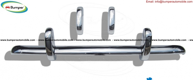 Triumph TR3A bumpers (1957–1962) in stainless steel