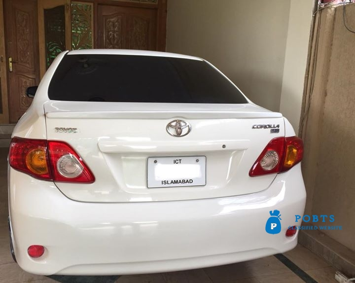 Toyota Corolla XLI 2011, Islamabad registered in very good condition