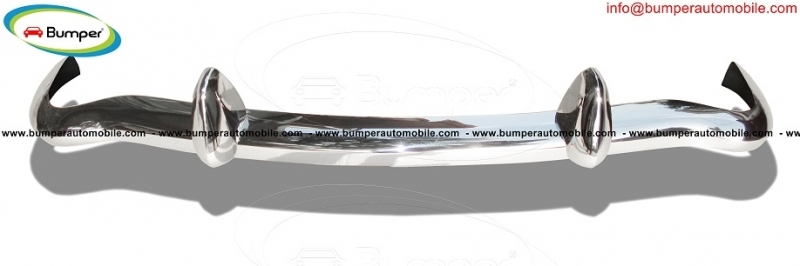 MGB bumper (1962-1974) classic car stainless steel