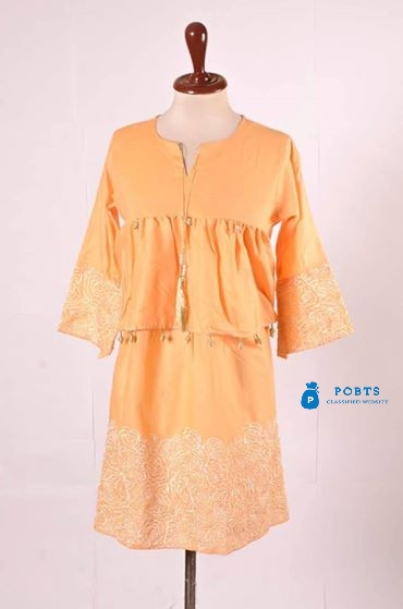 Embroidery stylish kurti collection Fabric cotton and Linen