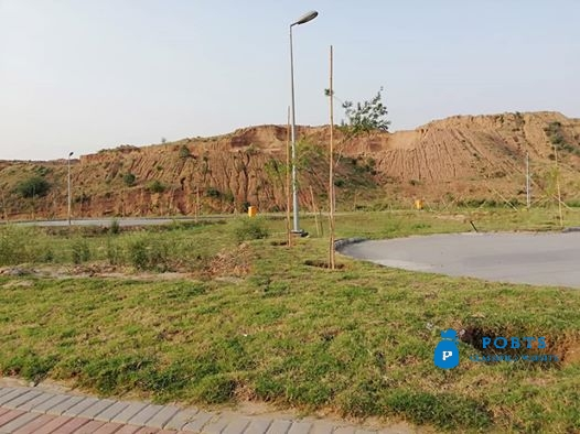 1 Kanal plot for sale in Bahria town phase viii