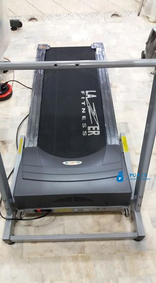 Ejaz Body Fitness automatic Treadmill machine weight support weight support 110 kg price 32000