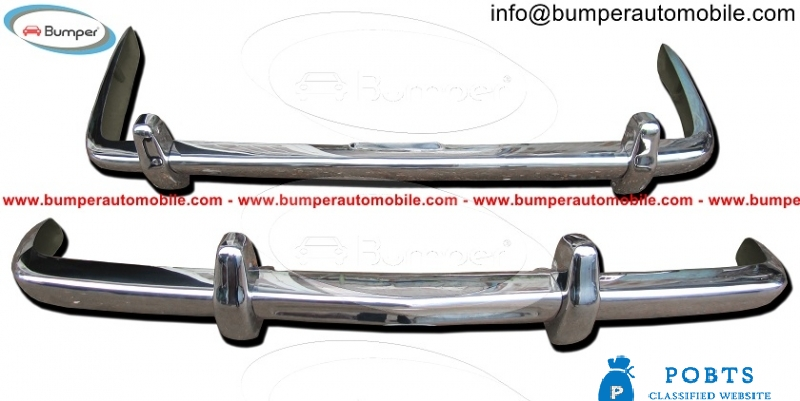 Bentley T1 bumpers year (1965-1977) stainless steel