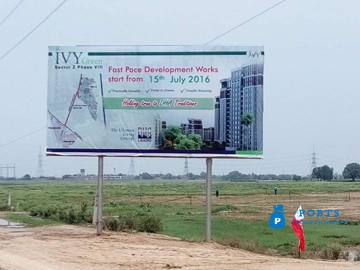 Dha phase 8 Ivy Green 5 marla all DUES clear plot Available for sale plot# 722 Z5 Facing 7 Marla