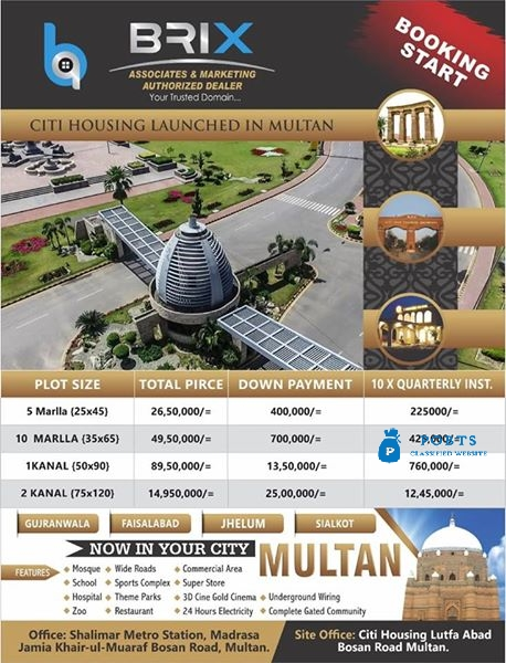 Citi Housing Multan (pvt) Ltd.