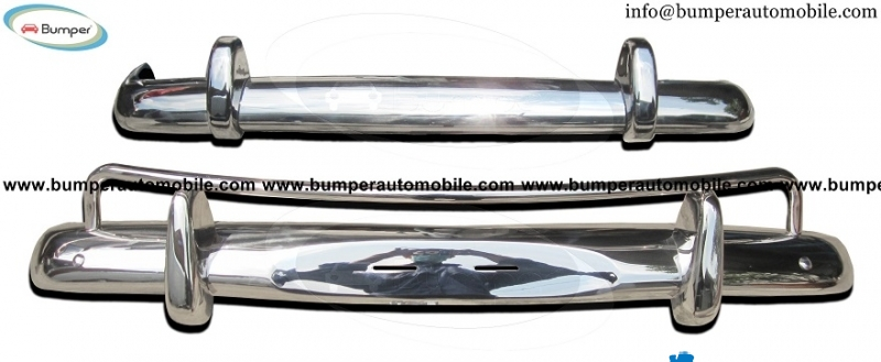 Volvo Amazon USA bumper (1956-1970) stainless steel