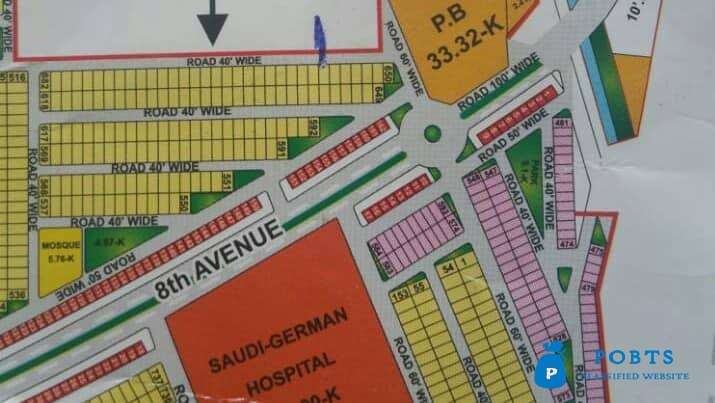 10 Marla Plot For Sale Bahria Orchard Lahore