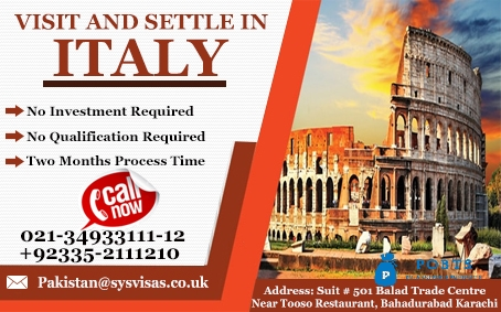 Visit And Settle In Italy