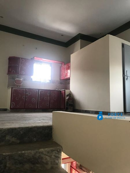 2 Marla brand new Double story corner House for sale.