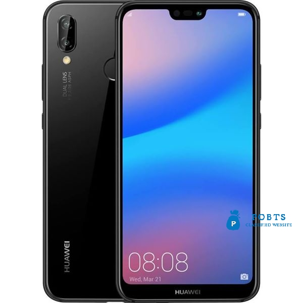 Huawei p20 lite 64gb black color box packed price is final