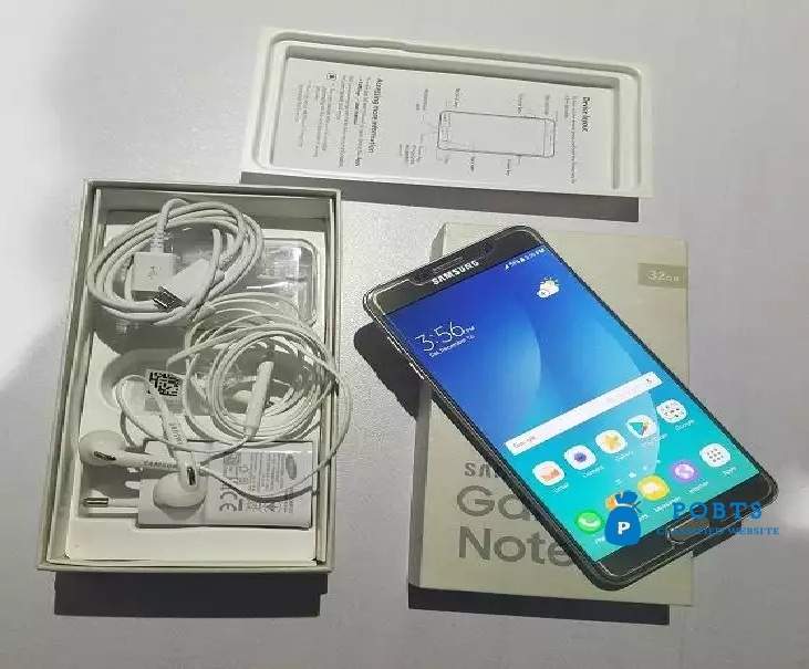 Galaxy Note 5 (DUAL SIM) Brand New Condition with Box & ALL Accessory