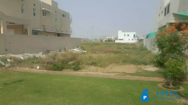 Hot Location Pair Plot Block A Is Up For Sale In DHA 9 Town