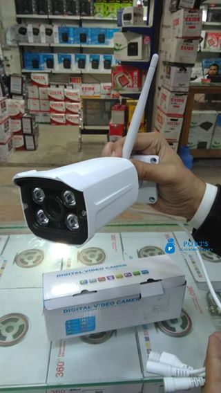 CCTV WiFi Cam on Mobile View