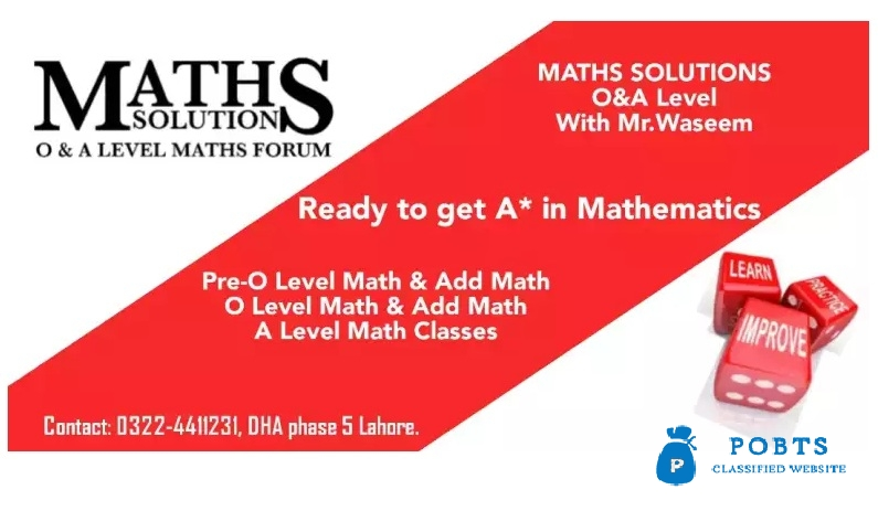 MATHS SOLUTIONS O&A Level
