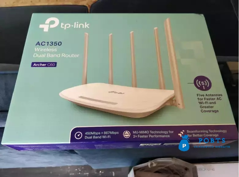 TP link Archer C60 box packed
