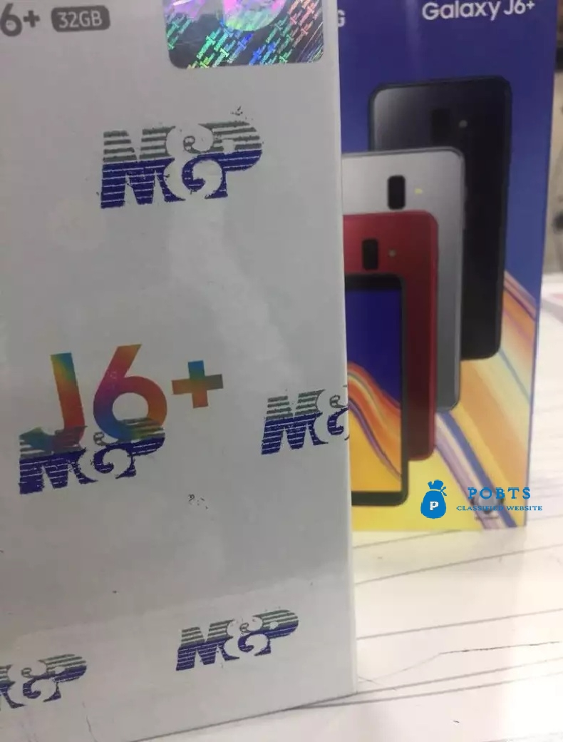 Galaxy J6 Plus New 2018 Pin Pack / Box Pack Availble with 3GB nd 32 GB
