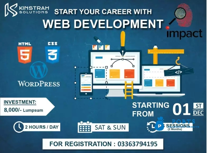 Web Development course to Start Your Career with Web Development
