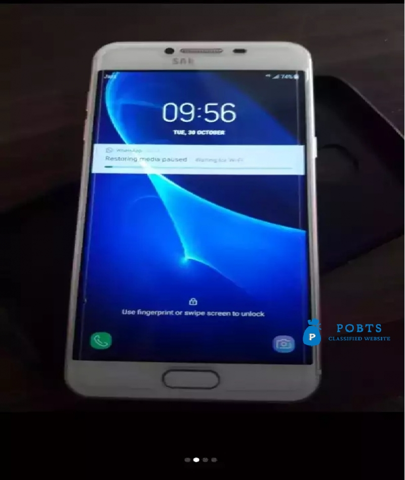 samsung galaxy c5 with box nd chrger