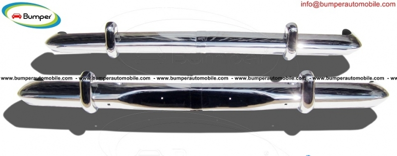 Opel Rekord P2 bumper kit ( 1960-1963) stainless steel