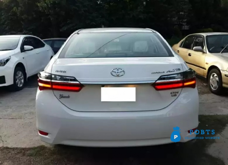Toyota Corolla Altis Grande 1.8 Auto Bank Leased Buy and drive