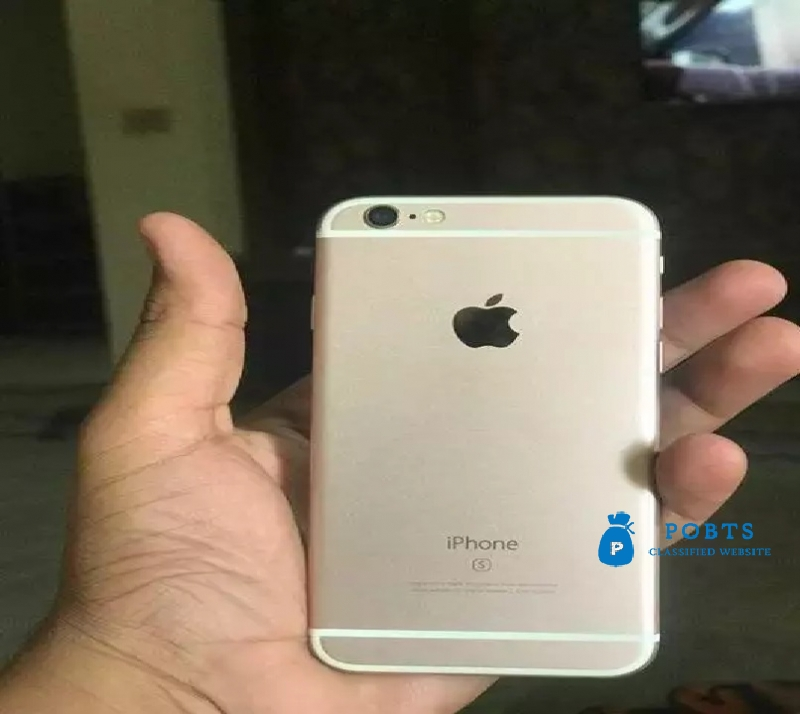 iphone 6s rose with all acesseries