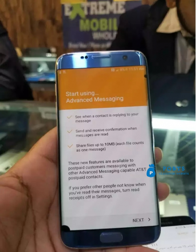 Samsung s7 edge miner dot in LCD. Other everything is ok