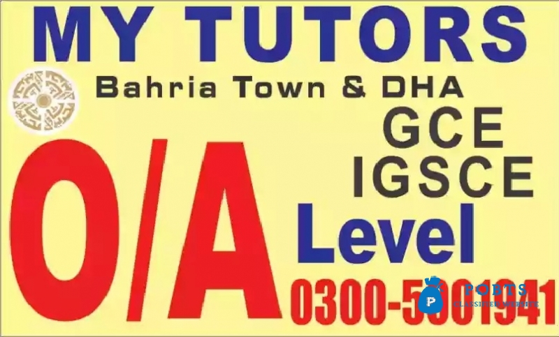 Bahria-DHA Phase 1&2 (GCE/IGCSE&IB system)home tuition