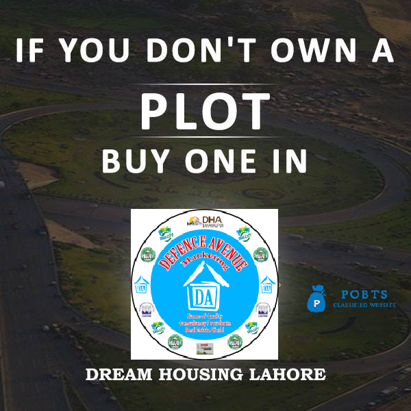Residential Plots for Sale In Dream Housing Society Lahore