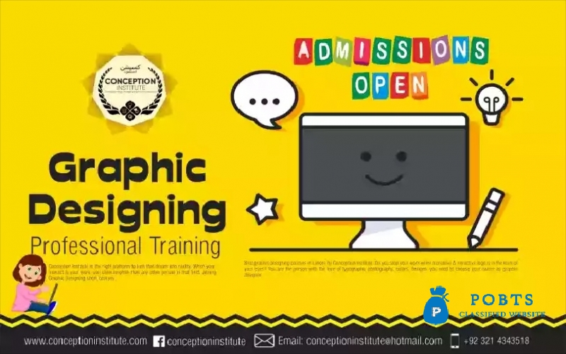 Graphic Designing Training only for female