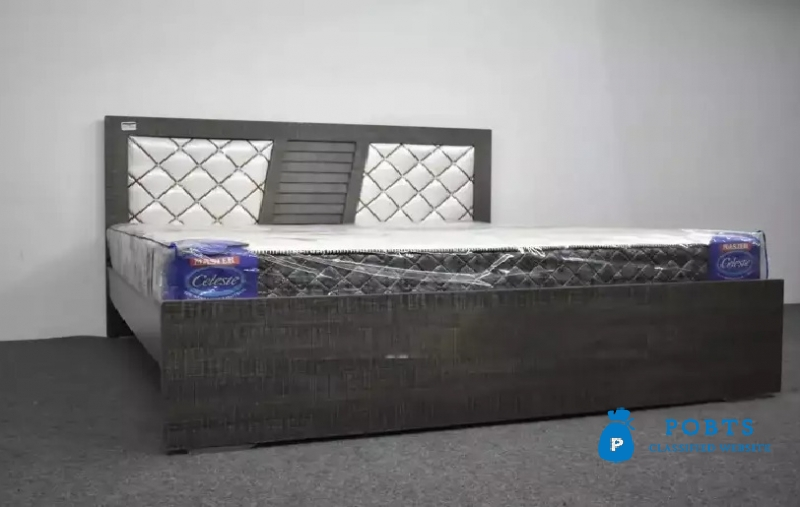 New kushan Bed and 4 pcs complete Bed Room Set