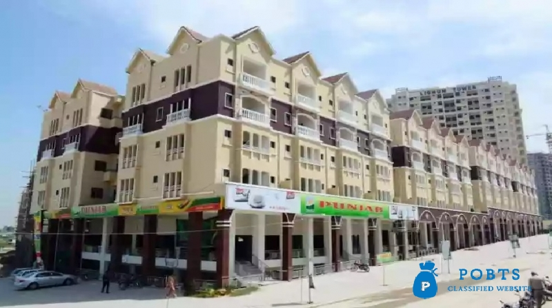 2 Bed Flat For Sale in DHA 2 Park Facing 2nd Floor