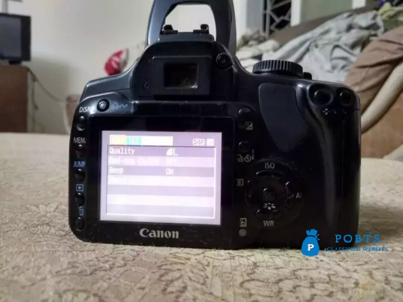 DSLR Cannon 400D with complete accessories and mint condition