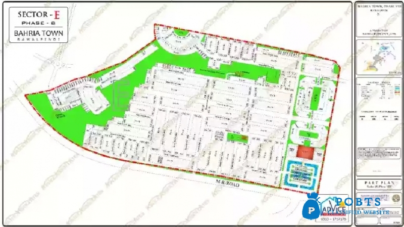 Bahria Town Phase 1 to 8 plots.