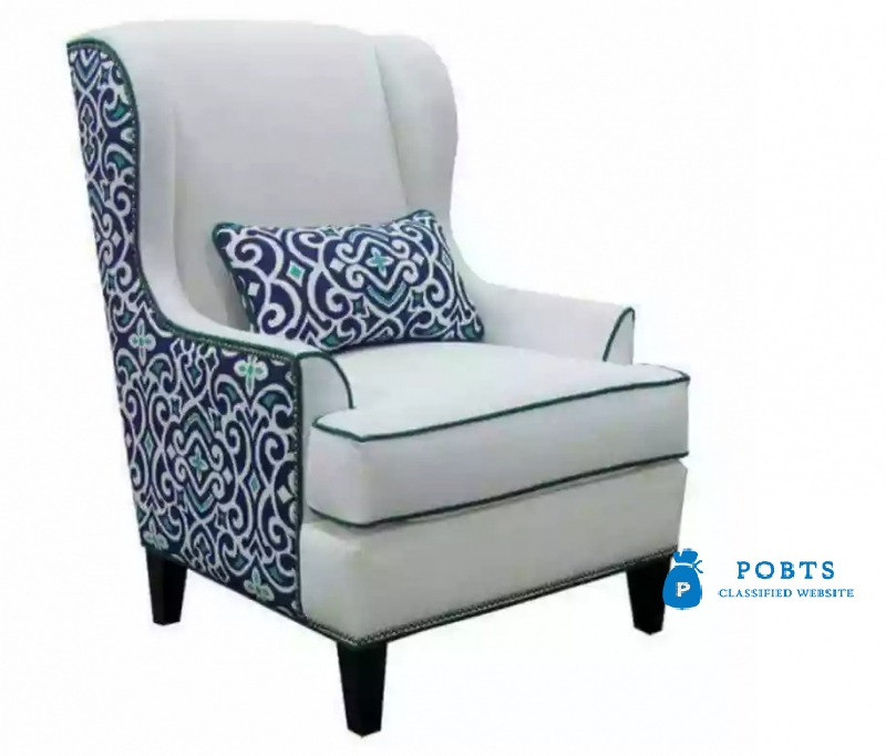 Brand new pair of bed room chairs with warranty