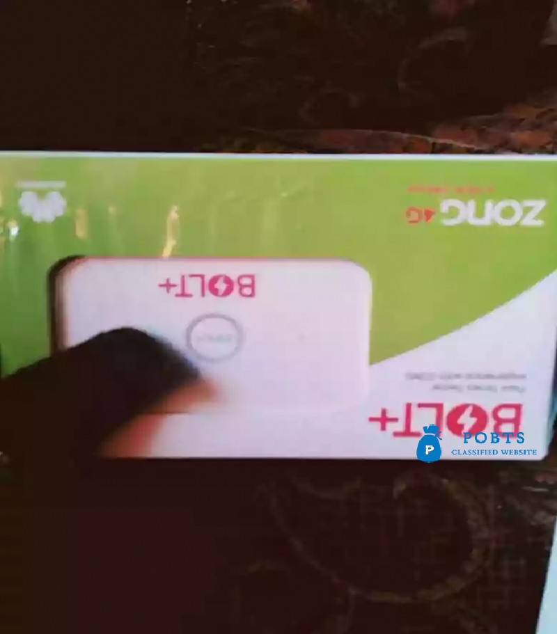 ZONG 4G BOLT MBB CLOUD NEW BOX PACK 1 YEAR WARNTI LHR ALL LHR DELIVERY