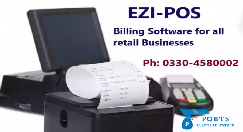 Billing Software solutions at Point of sale for all Businesses