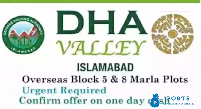 DHA VALLEY 8 MARLA PLOT AVAILABLE