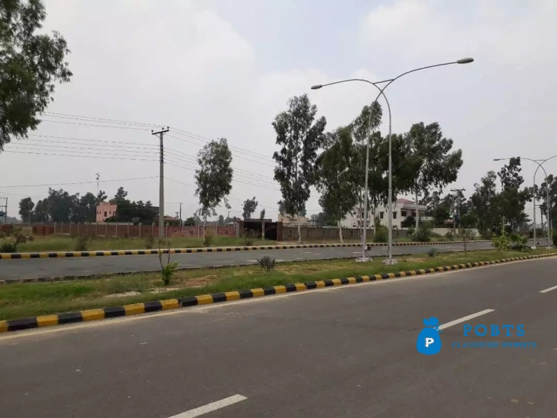 2 Kanal Main Boulevard Residential Plot Is Available For Sale 115 Lac