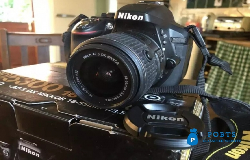 Nikon Dslr 5300 D Camera with two lens V/R Condition 10/10