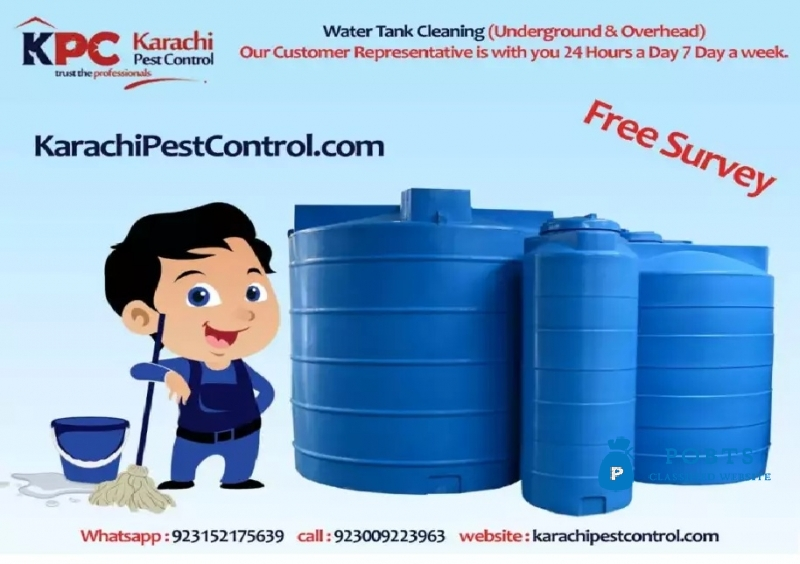 Pest Control/Fumigation & Water Tank Cleaning Services At a Fair Price