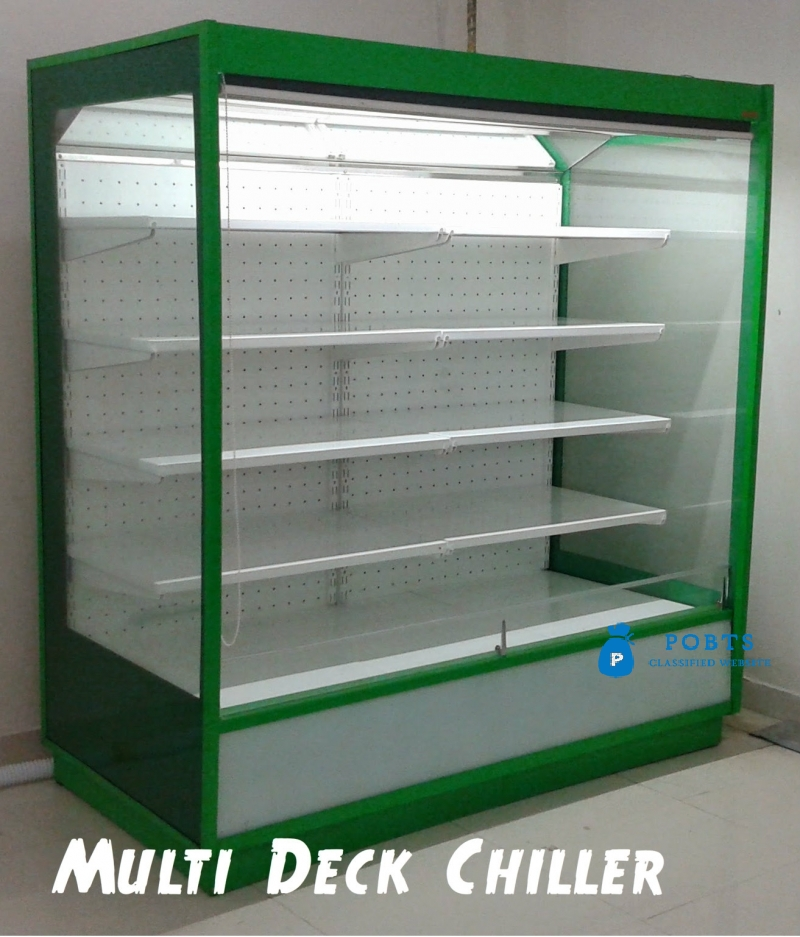 Fruit Display Chiller, Vegetable Chiller, Open Display Chiller in  Pakistan, Multi Deck Chiller in Pakistan made by Technosight