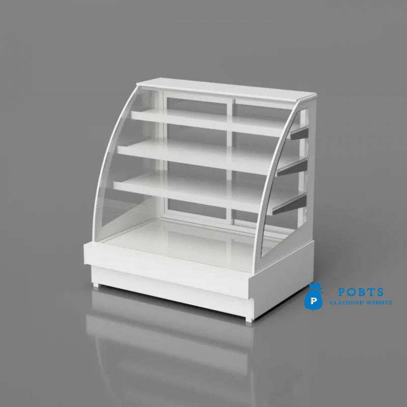 Pastry Counter Bakery Show Case Refrigerated Bakery Counter Refrigerated Cake Display Counter in Pak