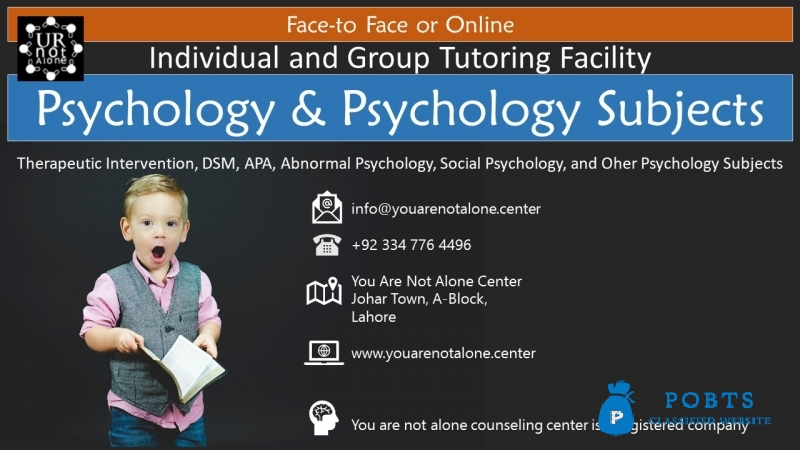 Psychology tutor