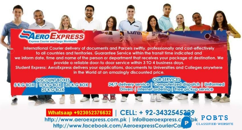 Aeroexpress International courier service Pakistan to worldwide