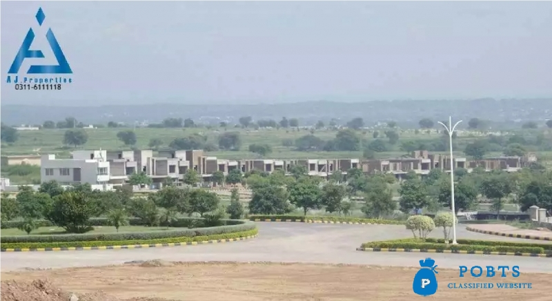 Residential Block P Plot For Sale in Gulberg Green islamabad