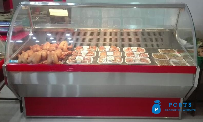 Display Chiller for Meat Shop, Meat Chiller, Meat Shop Equipment sale in Pakistan made by Technosight